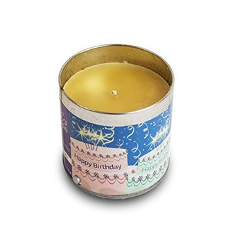 Scented Musical Happy Birthday Jar Candle Vanilla Cake KNG