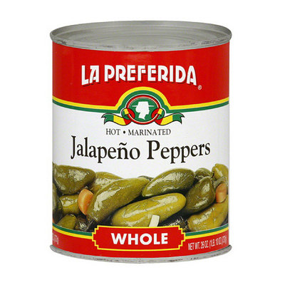 La Preferida Marinated Whole Jalapeno Peppers
