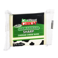 Cabot Sharp Cheddar Cheese Slices