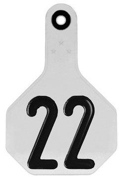 Y-Tex 2 pack Medium Plastic Number Tag (7700001)
