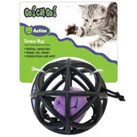 Go! Cat Go OurPets Spider in Cage Tumble Bug Interactive Cat Toy