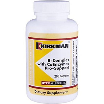 Kirkman B-Complex with CoEnzymes Pro-Support 200 Capsules