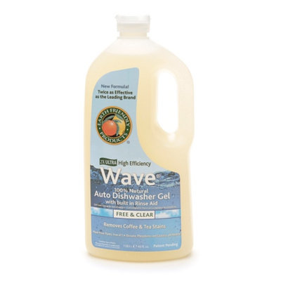 Earth Friendly Products Wave Automatic Dishwashing Gel Free and Clear 40oz