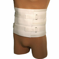 NYOrtho Universal Duo-Compression Lumbosacral Support in White