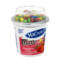 YoCrunch Yogurt Strawberry Lowfat with M&M's