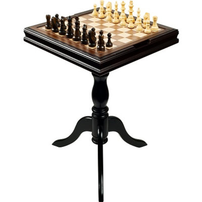 Trademark Games Deluxe Chess & Backgammon Table, Ages 7+, 1 ea