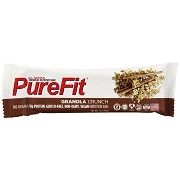 PureFit Nutrition Bar, Granola Crunch, 2 Ounce (Pack of 15)