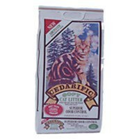 Northeastern Products Cedarific Natural Cedar Chips Cat Litter, 7.5 Pound Bag