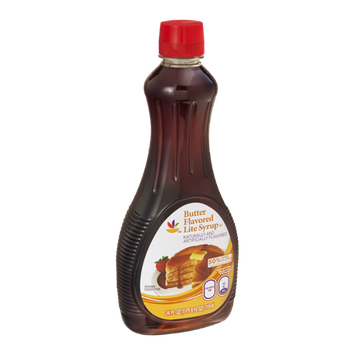 Ahold Butter Flavored Syrup Lite