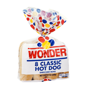 Wonder Classic Hot Dog Buns - 8 CT