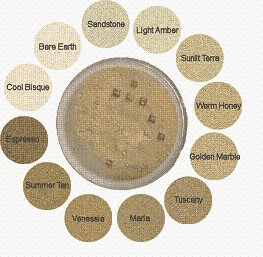 Warm Honey Accentuate Loose Mineral Makeup With Silk Terra Firma Cosmetics 50 g