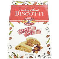 Coffaro's Baking Company Biscotti, Cranberry Almond, 6-Ounce (Pack of 3)