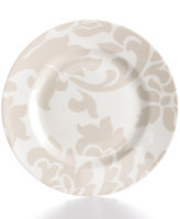 Martha Stewart Collection Lisbon Grey Salad Plate