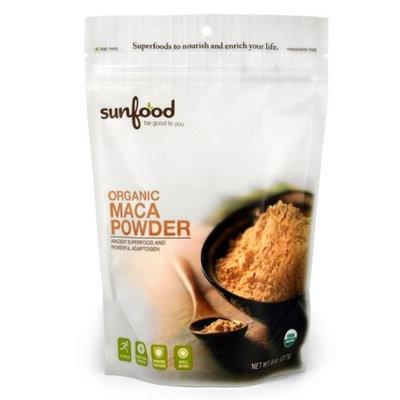 Sunfood Maca, Certified Organic, Non-GMO Verified, Vegan, Raw, 8oz