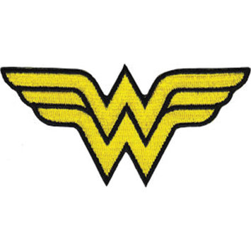 C & D Visionary Incorporated DC Comics Super Hero Patches-Wonder Woman Insignia 4 X2