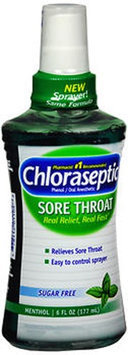 Chloraseptic Sore Throat Relief Spray, Menthol 6 oz by Med Tech Products