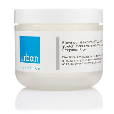 Urban Skintrition Prevention-Aid to fight Stretch Marks- 4 oz. /118 ml with Enhanced Shea Butter + Natural Botanical Extracts + Vitamins + Collagen Repairing Peptides (Paraben-free)