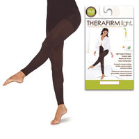 Therafirm Light Women's Light Support Footless Tights Large
