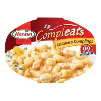 Hormel Compleats Chicken & Dumplings Microwaveable Meal 10 oz