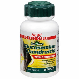 Finest Natural Glucosamine Chondroitin Triple Strength Caplets