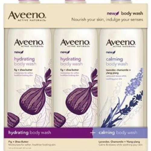 Aveeno® Aveeno Hydrating & Calming Body Wash - 3 Pack