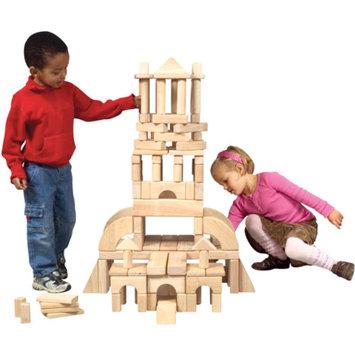 Guidecraft Classroom Unit Blocks, 110 Pieces