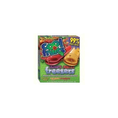 Cool Fruits Freezer Pops, Strawberry and Sour Apple Flavor, 14 Count