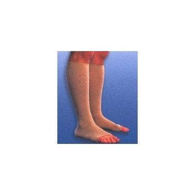 Sigvaris 230 Cotton Series 30-40 mmHg Unisex Open Toe Knee High Sock Size: Large Short