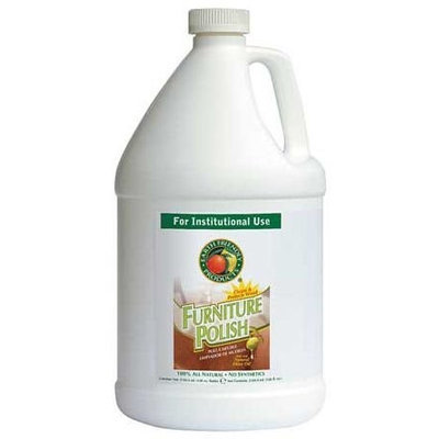 EARTH FRIENDLY PRODUCTS PL9731/04 Furniture Polish,128 oz, Non Scented