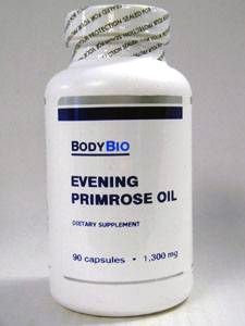 Evening Primrose Oil 90 caps by BodyBio/E-Lyte