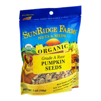 SunRidge Farms Nuts & Seeds Grade A Raw Organic Pumpkin Seeds
