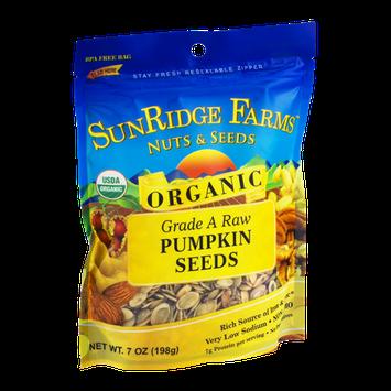 SunRidge Farms Nuts & Seeds Grade A Raw Organic Pumpkin Seeds