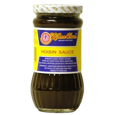 DragonMall Seasonings Koon Chun Hoisin Sauce, 15-Ounce Glass Jars (Pack of 1)