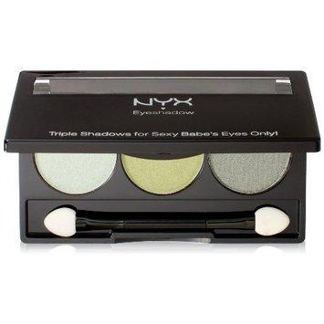 NYX Trio Eye Shadow, Spring Leaf/Lime Green/Green Tea