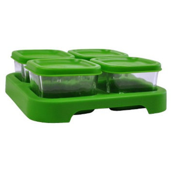 Green Sprouts Baby Food Storage Glass Cube (4-Pack)