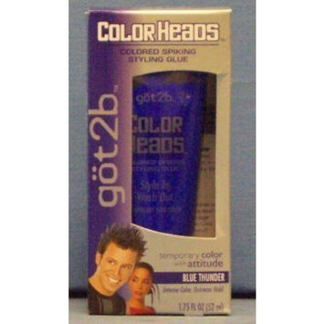 göt2b® Color Heads-Colored Spiking Styling Glue-Screaming Blonde