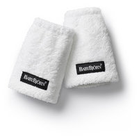 BABYBJORN Teething Pads for Baby Carrier, White, 2 ea
