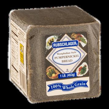 Rubschlager Pumpernickel Bread Westphalian Style