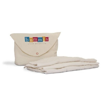 Bummis Organic Cotton Prefolds Diaper, 7-20 Pounds (Discontinued by Manufacturer)