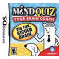 Ubisoft Mind Quiz - Puzzle Game - Nintendo DS