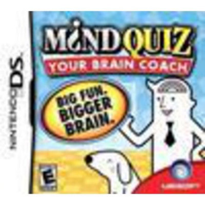 Ubisoft Mind Quiz - Puzzle Game - Nintendo DS