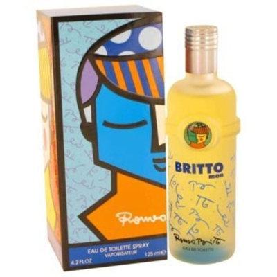 Britto by Romeo Britto Eau De Toilette Spray 4.2 oz Men's