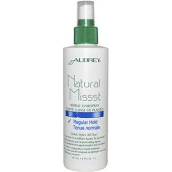 Aubrey Organics Natural Missst Hair Spray-Regular Hold 8oz
