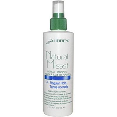 Aubrey Organics Natural Missst Hair Spray Regular Hold