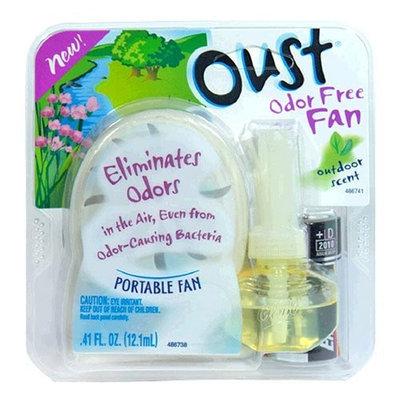 Oust Odor-Free Fan, Outdoor Scent, 1 each