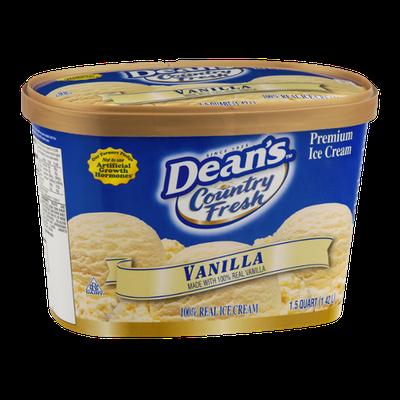 Dean's Country Fresh Premium Ice Cream Vanilla