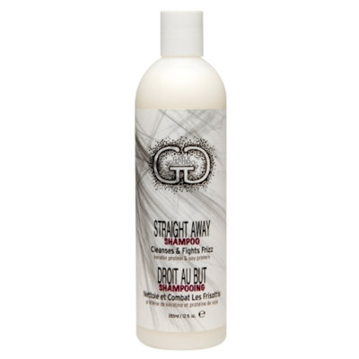 GG Gatsby Straight Away Shampoo, 12 fl oz