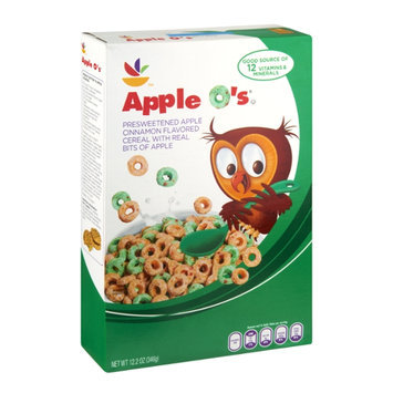 Ahold Apple O's Apple Cinnamon Flavored Cereal