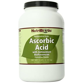 Nutribiotic Ascorbic Acid Powder with Bioflavonoids, 5 Pound