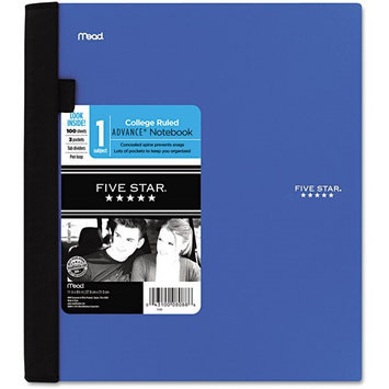 Five Star 08090 Advance Wirebound Notebook College Rule Letter White 150 Sheets/Pad